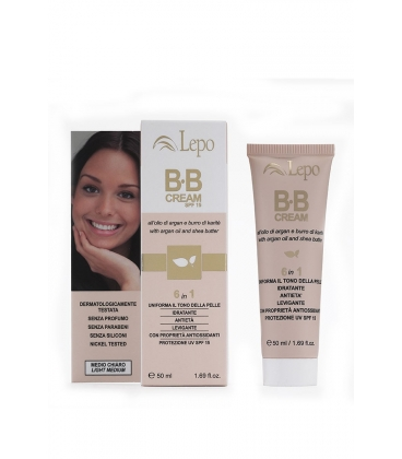 BB Cream all'Olio di Argan e Burro di Karitè